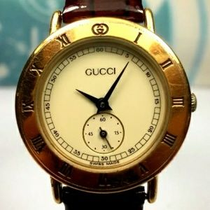 💯18k gold plated Authentic Gucci watch ⌚